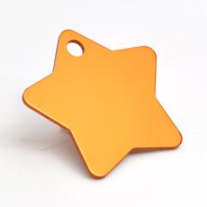 ID-Brikke, stjerne, oransje