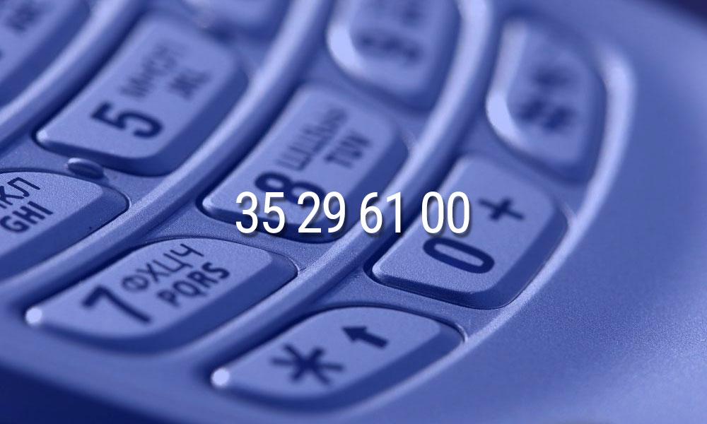Nytt telefonnummer